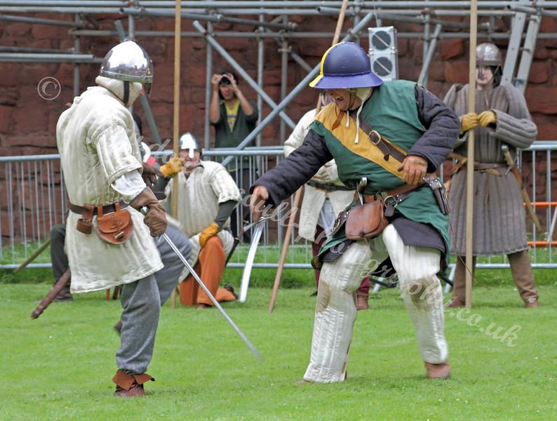 Mock Battle 1314 - Bothwell Castle - 31 July 2011