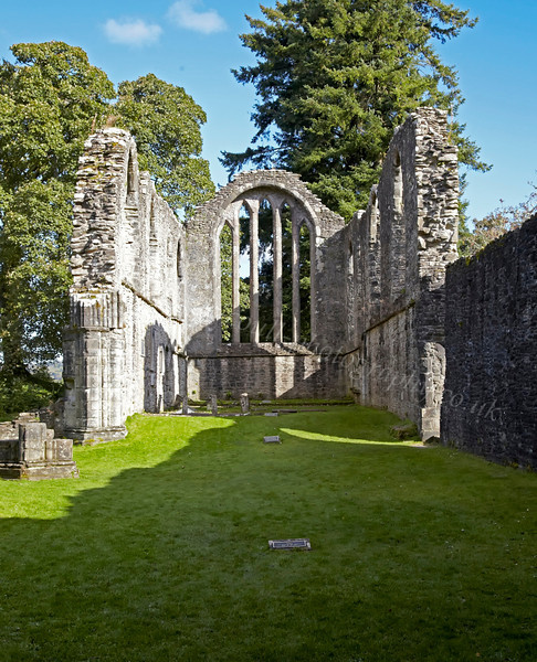 Inchmahome Priory - Lake of Menteith - 7 October 2012