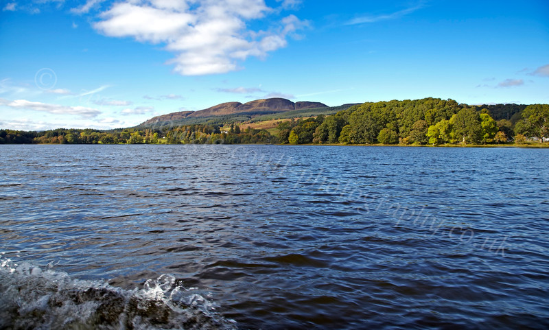 Heading to Inchmahome Priory - Lake of Menteith - 7 October 2012