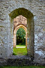 Inchmahome Priory - Doorway - 7 October 2012