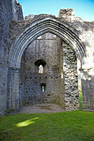 Inchmahome Priory Tower - 7 October 2012