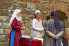 Medieval Ladies - Linlithgow Palace - 8 July 2012