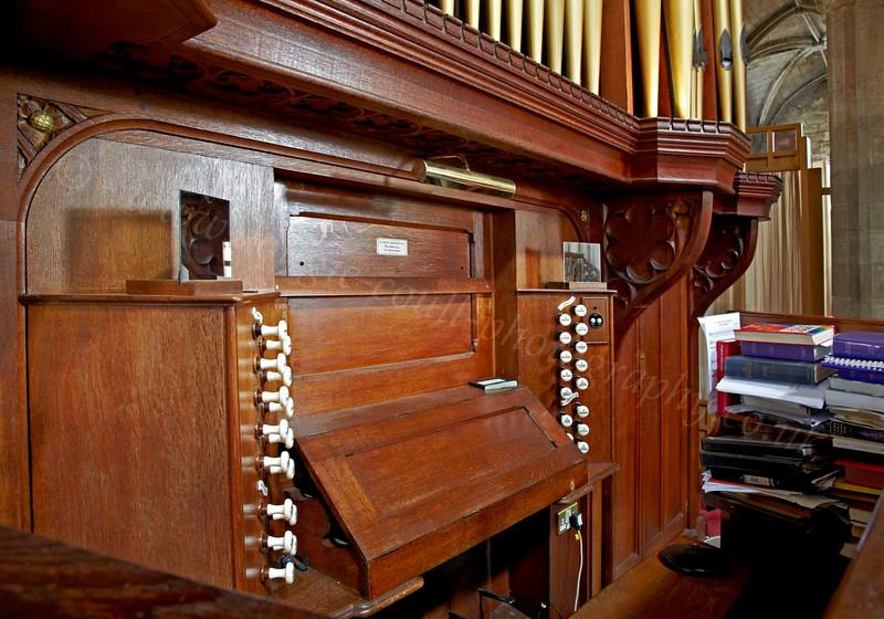 Organ - St Michael's Church - 25 July 2012