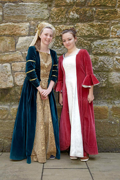 Ladies in Waiting at Linlithgow Palace - 25 July 2012