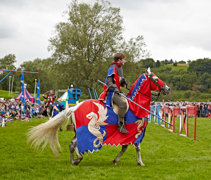 Jousting - Linlithgow Palace - 8 July 2012