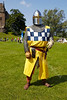 Knight at Linlithgow Palace - 7 July 2013