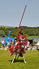 Jousting at Linlithgow Palace - 7 July 2013