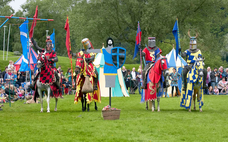 Jousting Team - Linlithgow Palace - 8 July 2012