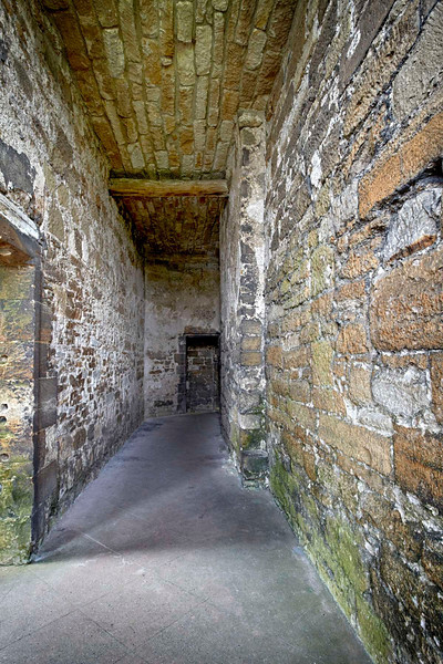 Linlithgow Palace Corridor - 25 July 2012