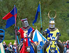 Jousting Knights - Linlithgow Palace - 8 July 2012