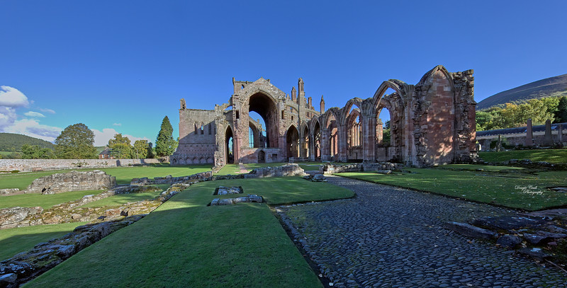Melrose Abbey - 8 October 2015