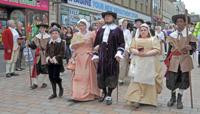 Marching Through Paisley - Renfrewshire Witch Hunt Re-enactment - 1697 -  9 June 2012