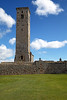 St Rule's Tower at the Cathedral - St Andrews - 27 April 2012