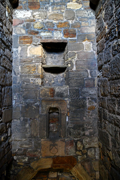 St Rule's Tower Interior at the Cathedral - St Andrews - 27 April 2012