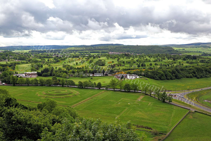 View from Stirling Castle - 31 May 2012