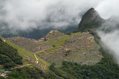 Machu Picchu, Peru November 2007
