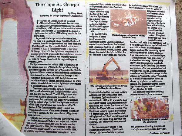 Cape St. George Light