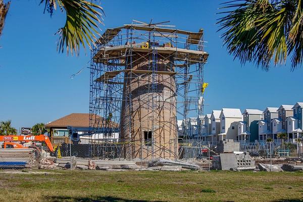 Saint George Lighthouse Under Construction