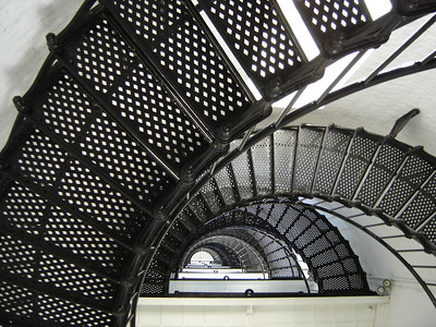 Stairs at the St. Augustine Lighthouse