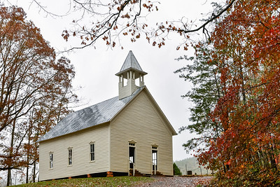Fall At The Methodist Church