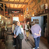 Richard MacKay gives guests a tour of his historic barn. Photo by Garyfallia Pagonis