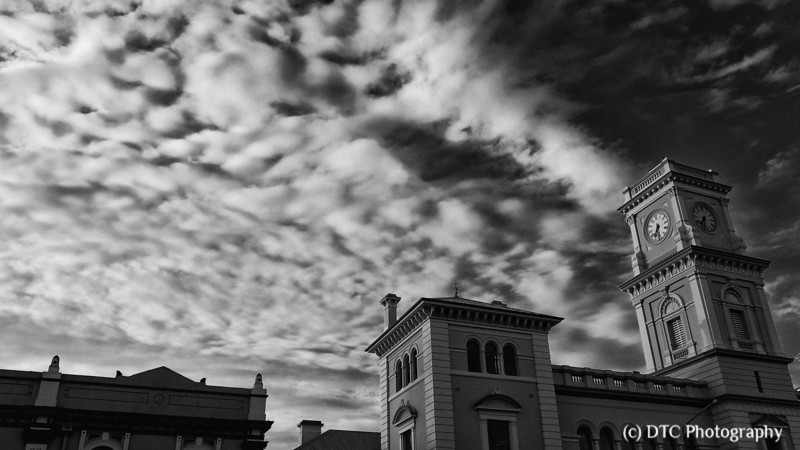 Early morning, Post Office, Goulburn (Big Sky series)