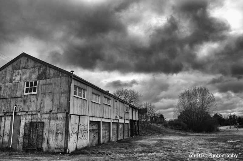 Railway work shed, Goulburn