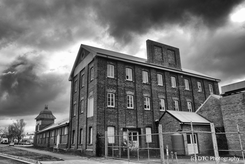 the old Connolly's flour mill, Goulburn