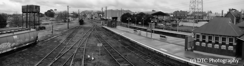 Southward view, Goulburn Railway Station
