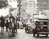 Parade by Hotel Gen Custer