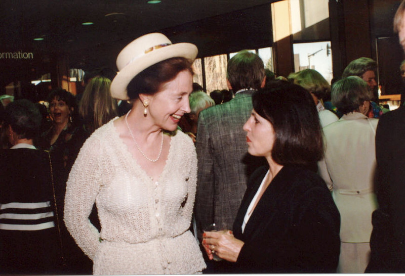 Dinner in the Garden - Elizabeth McNamer 1997