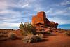 Wukoki Pueblo, Wupatki National Monument, Arizona.