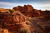 Box Canyon Dwellings, Wupatki National Monument, Arizona.