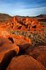 Wupatki Pueblo, Wupatki National Monument, Arizona.