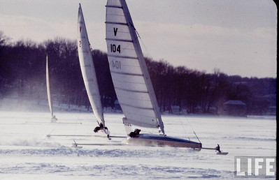20081121 Life Magazine Iceboating