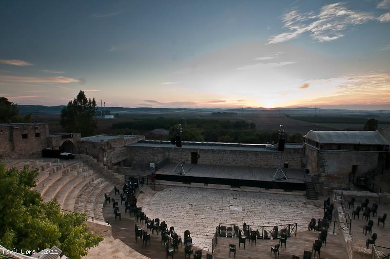 Shuni Fortress and Amphitheater