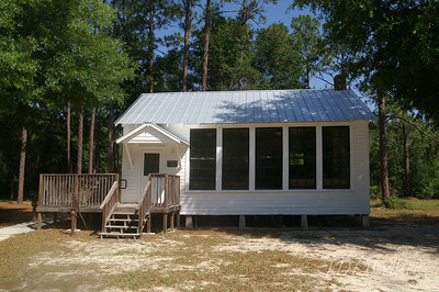One room school house, silver springs Florida.