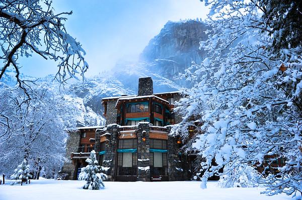 Ahwahnee Hotel, Yosemite NP