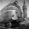 English Coronation Train at Worcester, MA Union Station. 1940-10n4_dK
