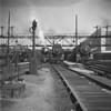 Lineup at South Station, Boston, Ma - L-R B&A, NH, NH, NH. 1940-06n1_dK