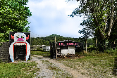 Lake Shawnee Abandoned Amusement Park - Rock, West Virginia