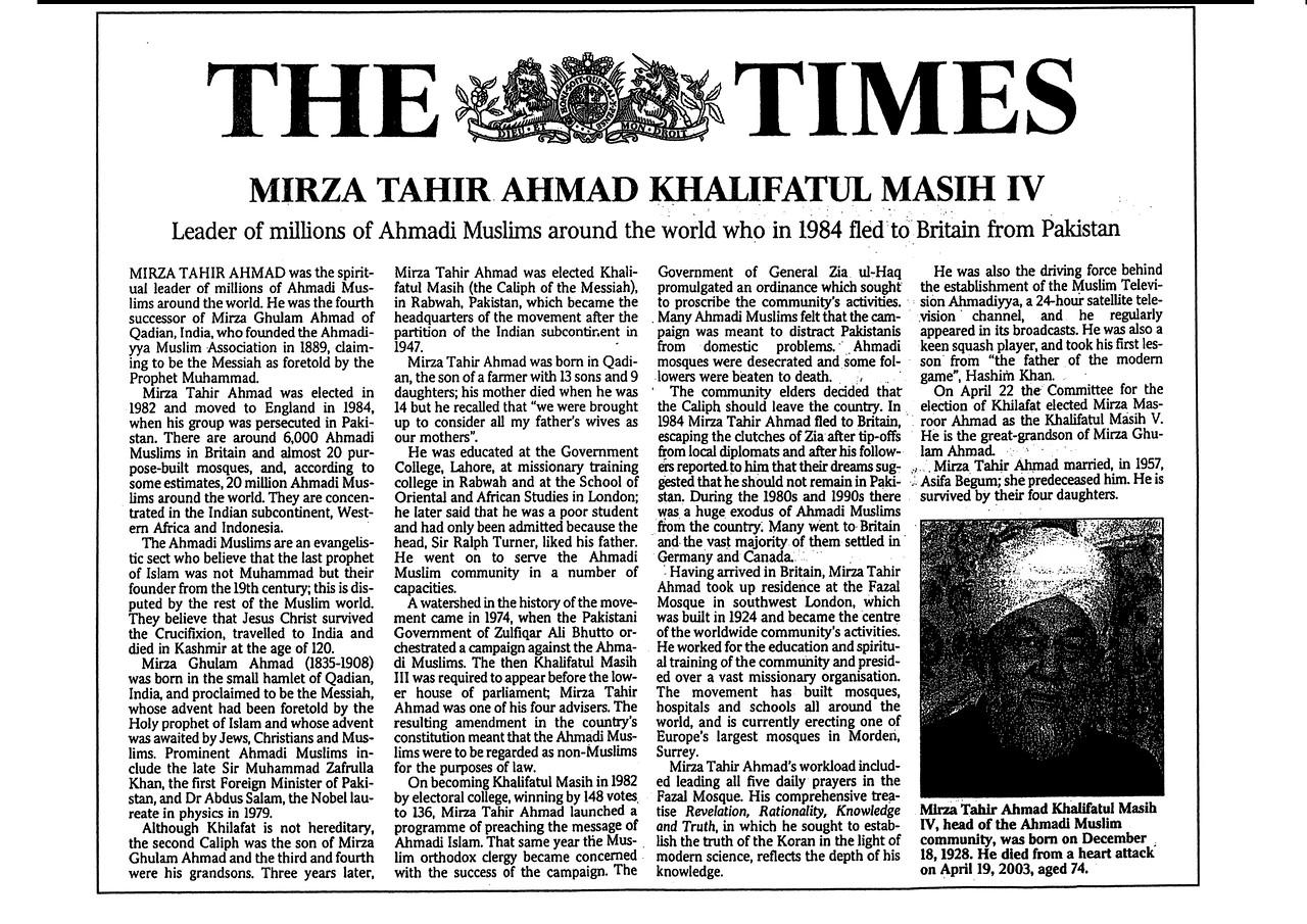 HKM4 Times Obituary 1 of 2