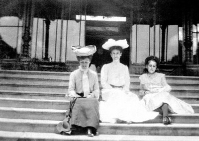 Ladies dressed for Church
