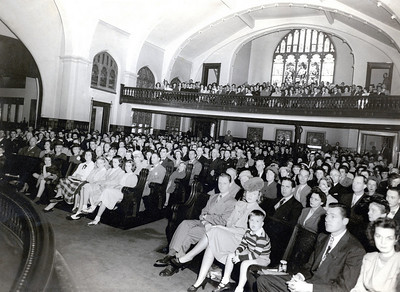 Circa 1940's Sanctuary interior
