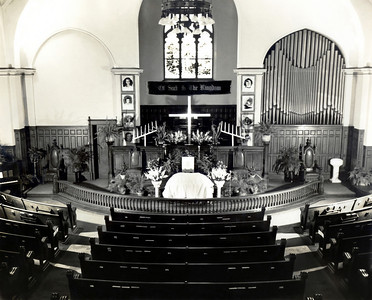 Early view of FUMC Sanctuary
