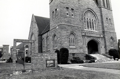 Sanctuary looking northeast - 1970's