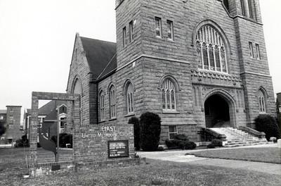 Sanctuary looking northeast - 1970's