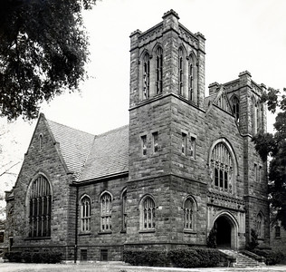 First Methodist Church, Pensacola Florida, Sanctuary circa 1950