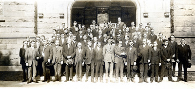 Taken December, 1921 on the steps of First Methodist Church, Pensacola, Florida