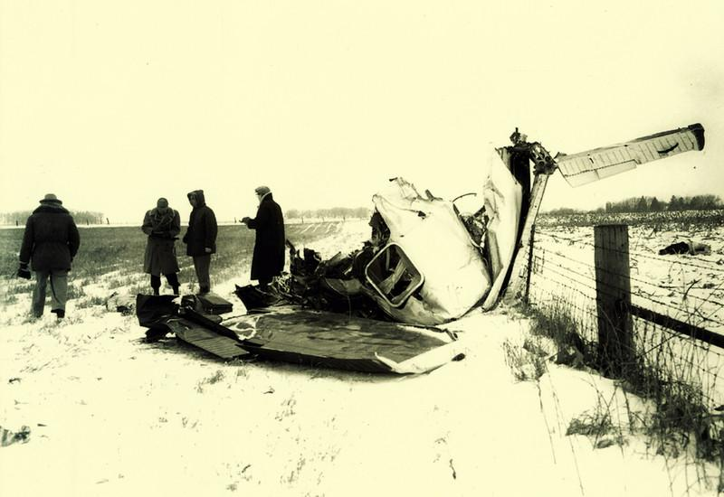 The Bonanza was at a slight downward angle and banked to the right when it struck the ground at around 170 mph. The plane tumbled and skidded another 570 ft across the frozen landscape before the crumpled ball of wreckage piled against a wire fence at the edge of the property.